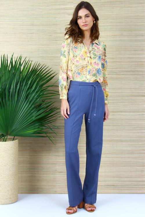 Camisa Tec Ice Cashmere Floral - V21