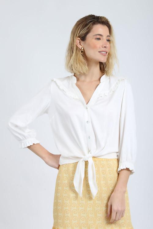 Camisa Babados No - V20