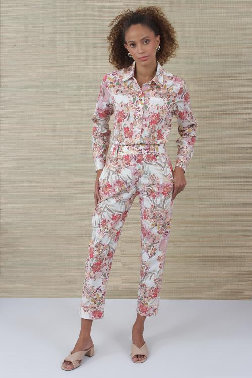 Camisa Flores Aquarela - V21