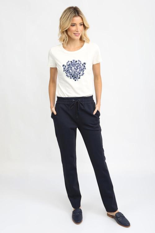 T-Shirt Bordado Arabesco - I21