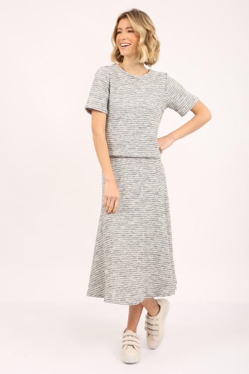 Blusa Tweed Cropped - P21
