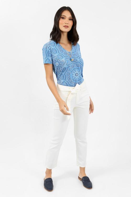 T-Shirt modal mandala - I21