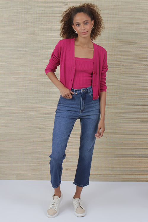 Cardigan Tricot Cropped - V21