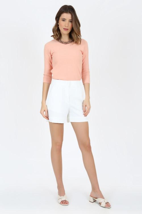 Blusa tricot piquet - V21