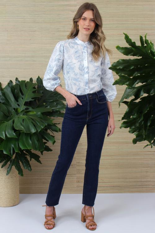 Calça Jeans skinny  - V 21