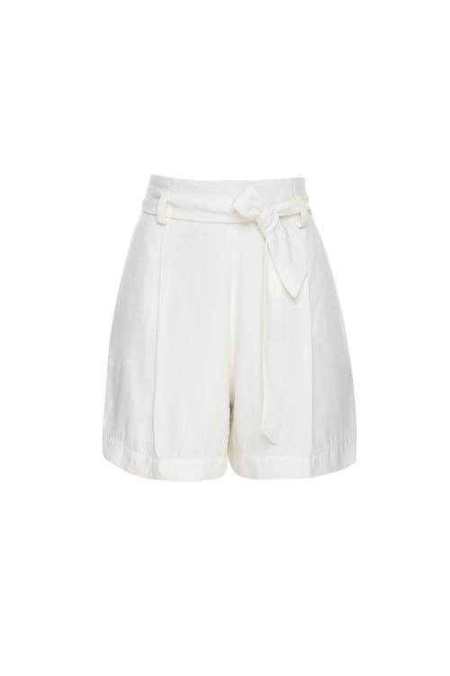 Shorts saia clochard crepe - V19