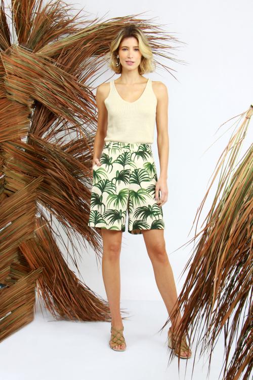 Shorts Cós Palmeira V21
