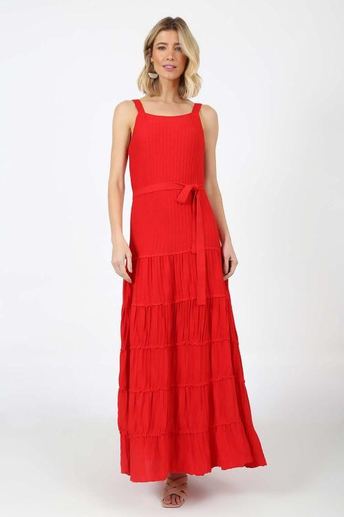 Vestido Tricot Longo - P - S21