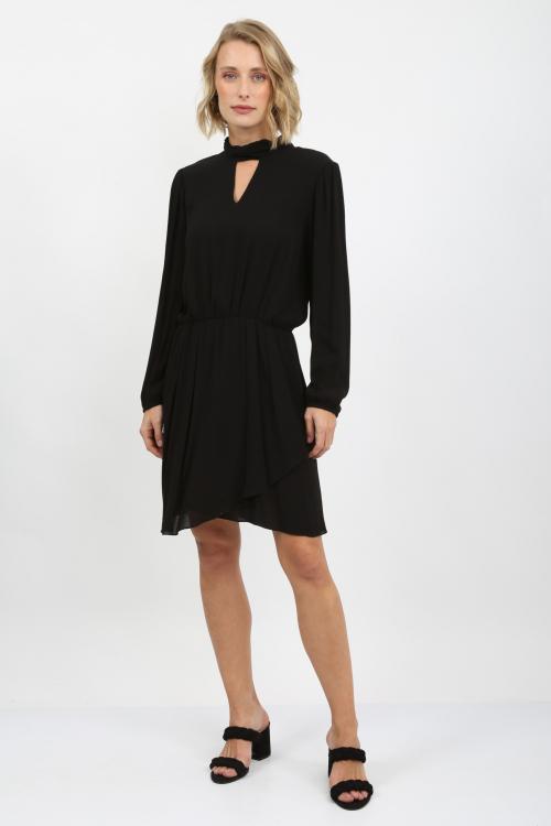 Vestido Gola Alta - I20