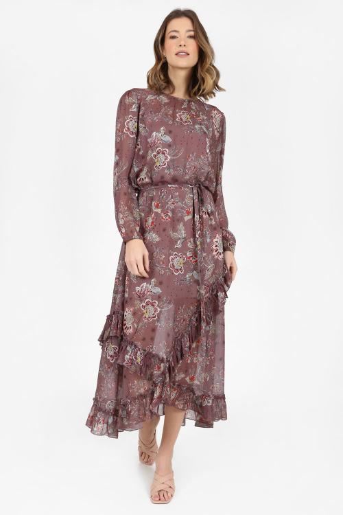 Vestido Tilly Midi Floral - V20