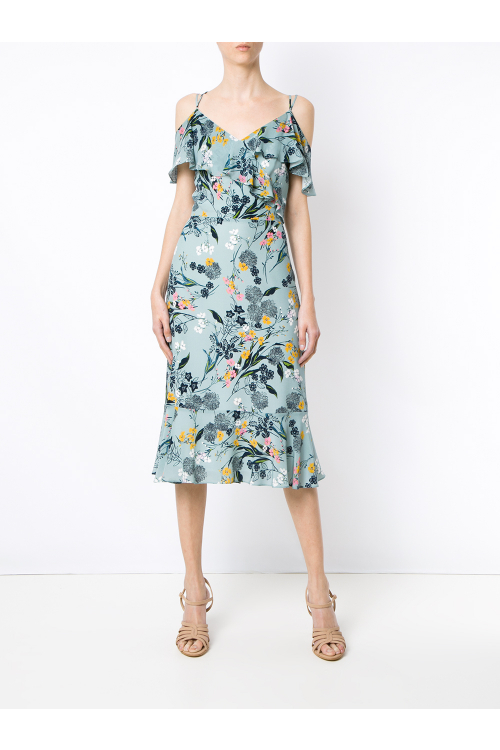 Vestido Heloise Acqua - I18