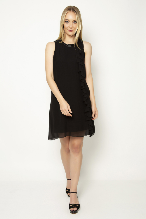 Vestido ggt gola bordada - V19