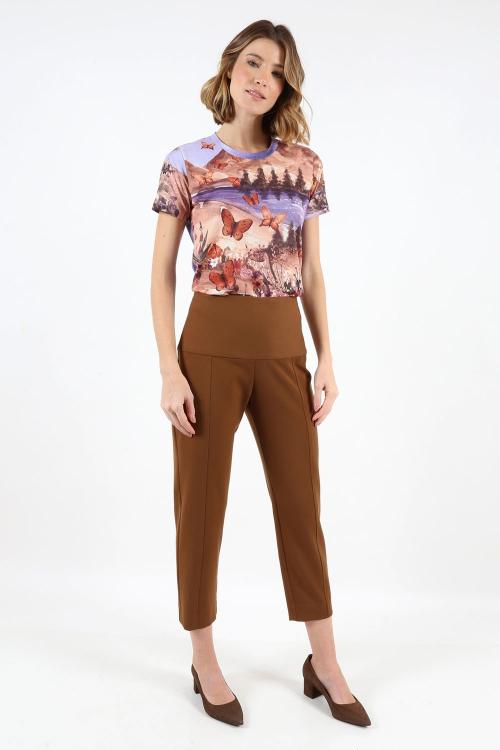T-Shirt Estampa Borboletas - I20