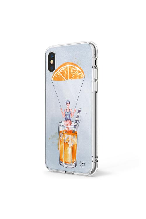 Capa Iphone X Drink - V18